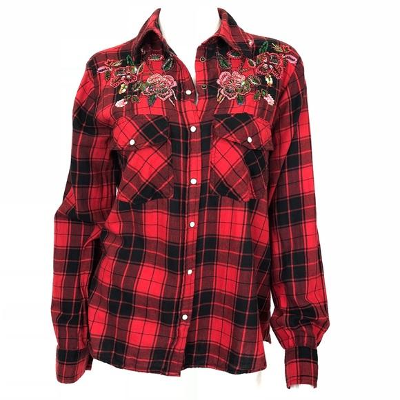 fc9ea0ed Zara | Button Down plaid women's Flannel Shirt. M_5ba157cc0cb5aaaa2859cc45